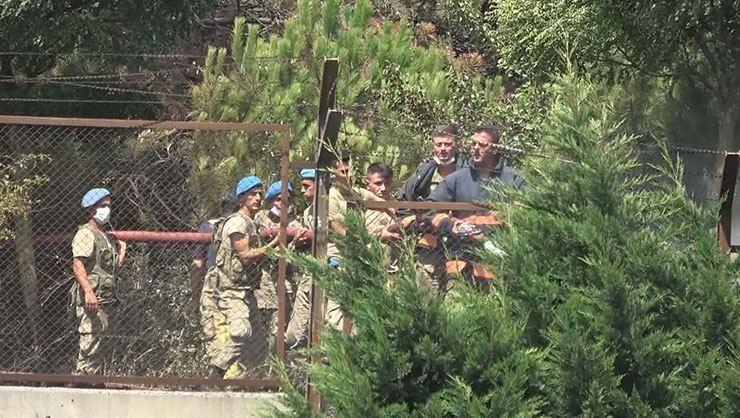MSB: Baştabya Kışlası'nda çıkarılan yangının şüphelilerini yakalayan askerler ödüllendirildi