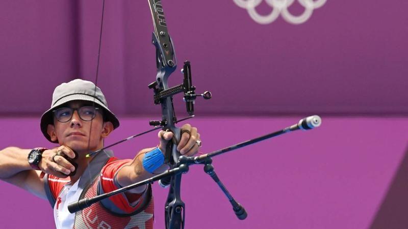 Mete Gazoz, altın madalyanın sahibi oldu