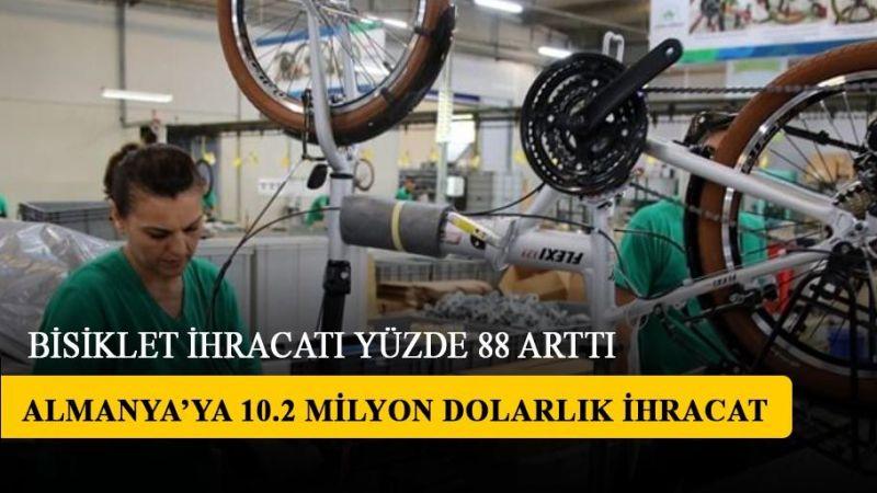 Türkiye'ninbisikletihracatı yüzde 88 arttı