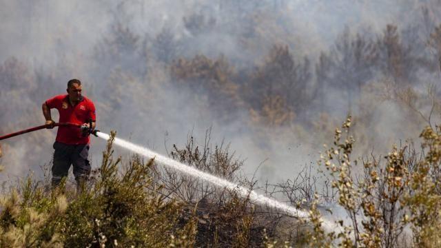 Silifke, Gazipaşa ve Bodrum'da yangınları kontrol altında