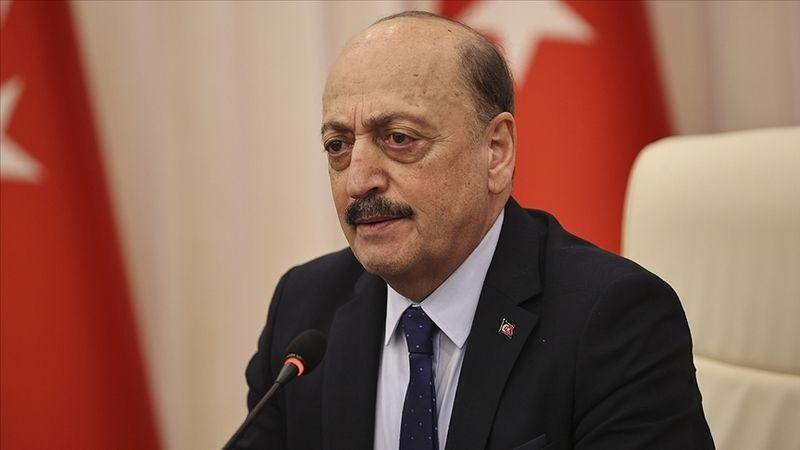"""Çalışma ve Sosyal Güvenlik Bakanı Vedat Bilgin'den """"Toplu sözleşme"""" açıklaması"""