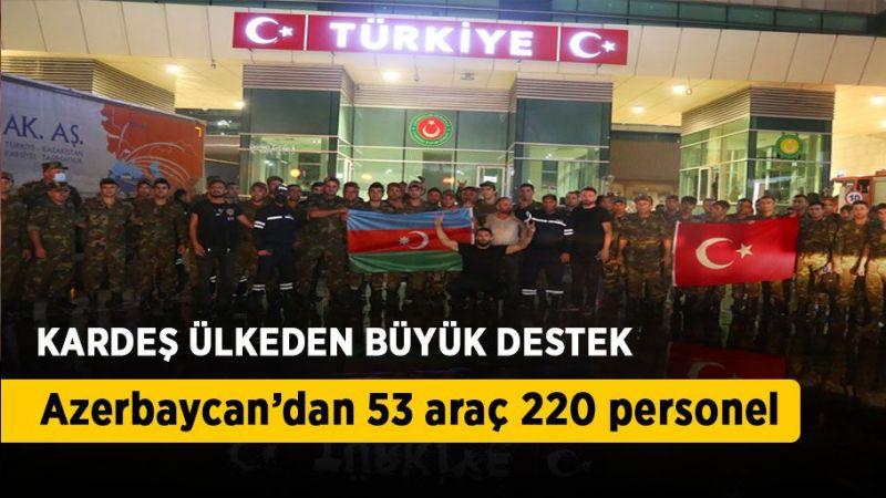 Kardeş ülkeden Türkiye'ye orman yangınlarıyla mücadelede destek