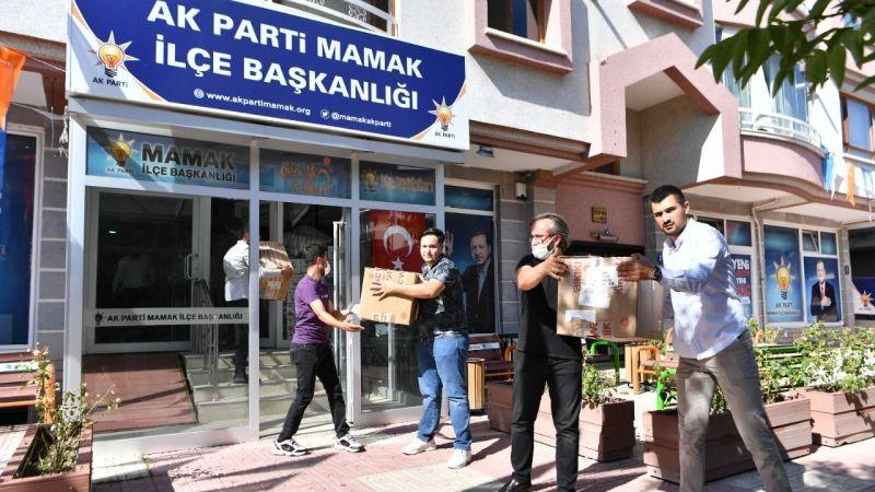 Mamak'tan Marmaris'e yardım tırı yola çıktı