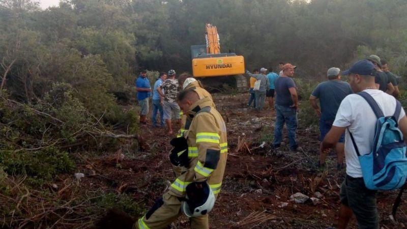 Mehmetçik, Muğla'nın Milas ilçesinde yangın söndürme çalışmalarına destek veriyor