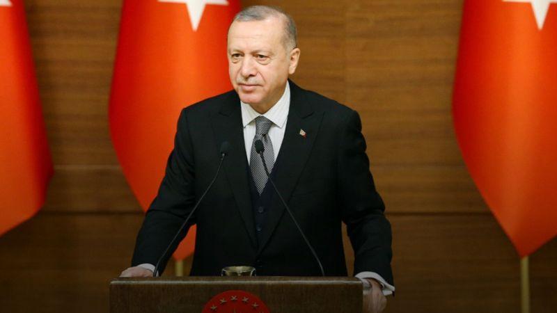 """Cumhurbaşkanı Erdoğan'dan """"Teşekkür"""""""