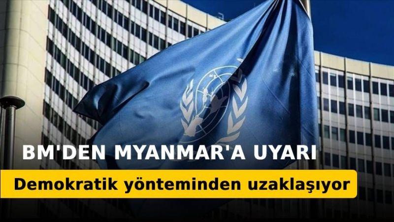 BM'den Myanmar'a demokrasiden uzaklaşıyor uyarısı