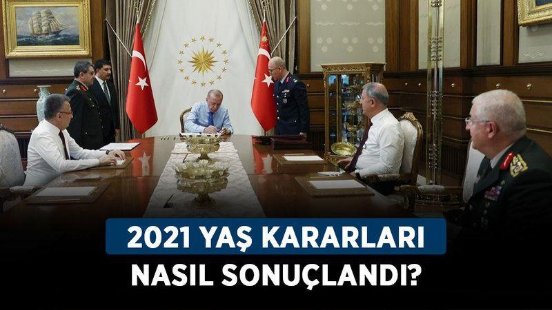 2021 YAŞ kararları nasıl sonuçlandı? YAŞ terfi ve atama kararı listesi!