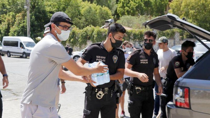 Türkiye tek yürek yangınla mücadele ediyor
