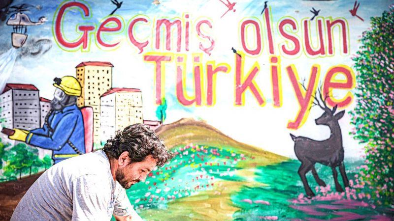Suriyeli sanatçıdan Türkiye'ye destek