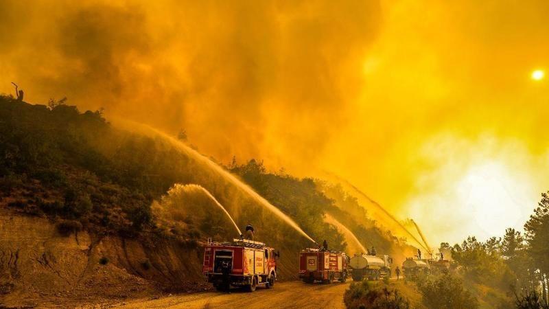 Sosyal medya kullanıcısı gözünden Manavgat yangını