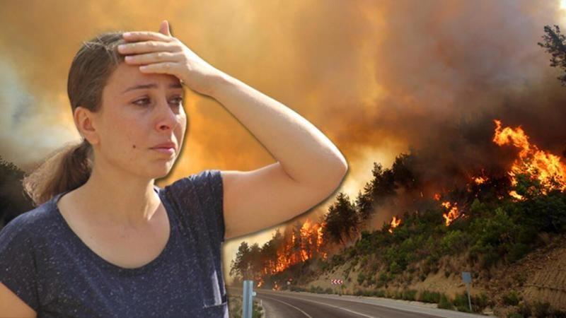 Türkiye'nin yangınlarla mücadelesi devam ediyor
