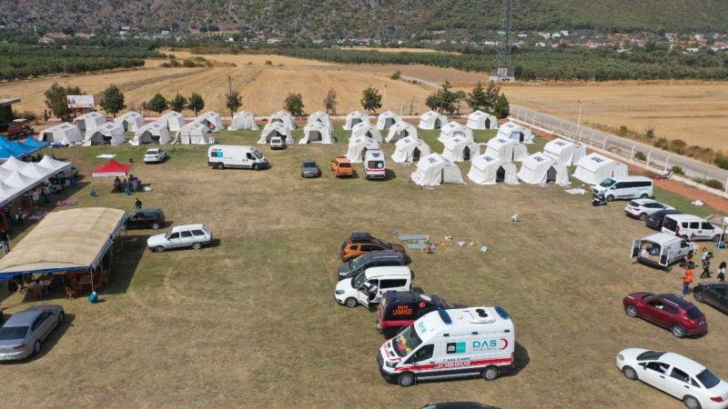 Kızılay ve AFAD  Milas yangınında zarar görenlere destek sağlıyor