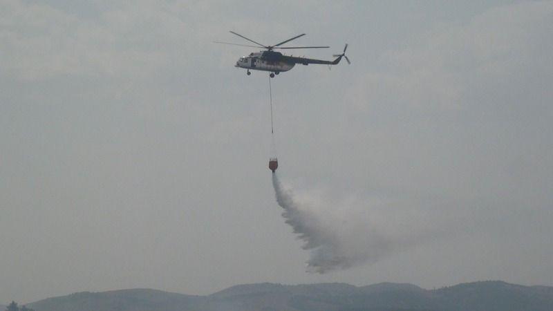 Tefenni'de çıkan orman yangını kontrol altına alındı