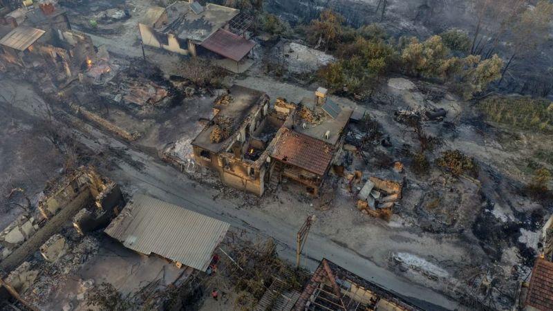Manavgat ve Gündoğmuş yangınları kontrol altında