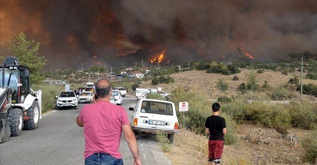 Aydın'ın Çine ilçesinde 2 mahalle boşaltıldı