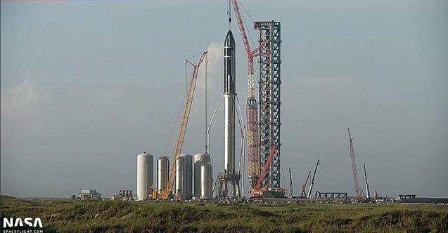 Dünyanın en büyük uzay roketi 'Starship' hazır