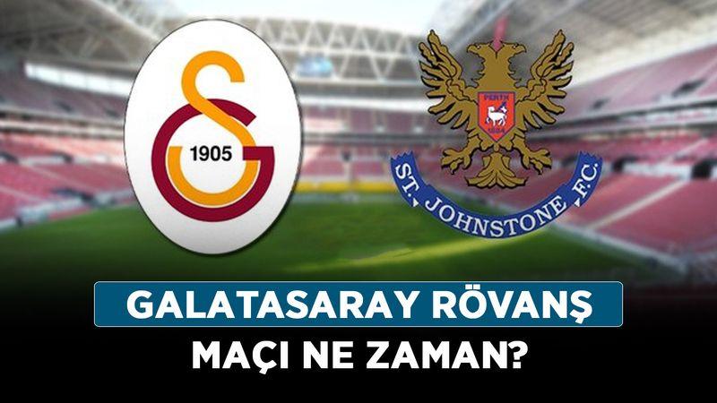 Galatasaray rövanş maçı ne zaman? St. Johnstone - Galatasaray hangi kanalda?