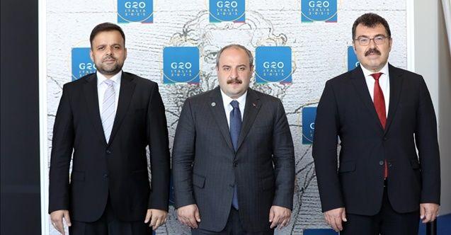 Bakan Varank G20 Araştırma Bakanları Toplantısı için İtalya'da