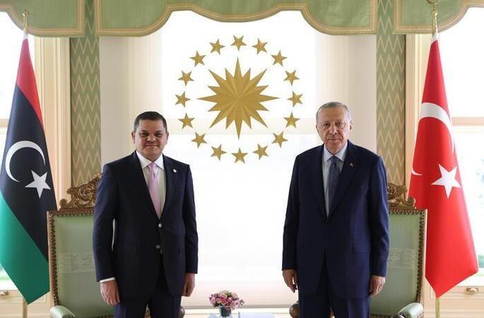 Cumhurbaşkanı Erdoğan'ın Dibeybe ile görüşmesi sona erdi