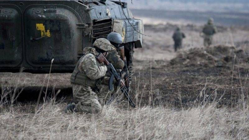 Rusya yanlısı ayrılıkçıların ateşi sonucu 1 Ukrayna askeri öldü