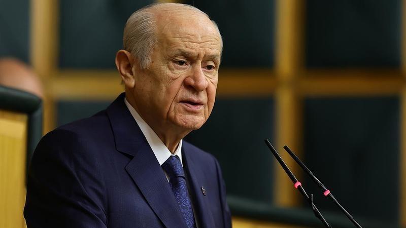 MHP lideri Bahçeli: Yıkılmamızı bekleyenler boş heves içindedir