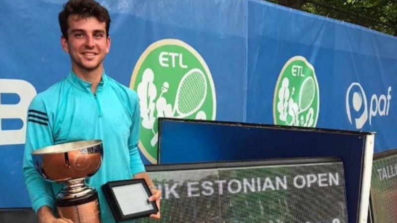 Milli tenisçi Ergi Kırkın, Estonya'da şampiyon