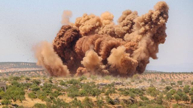 Esed rejiminin Hama ilindeki saldırısında 4 çocuk şehit oldu