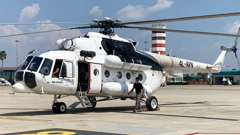THY, orman yangınlarıyla mücadele için iki helikopter kiraladı