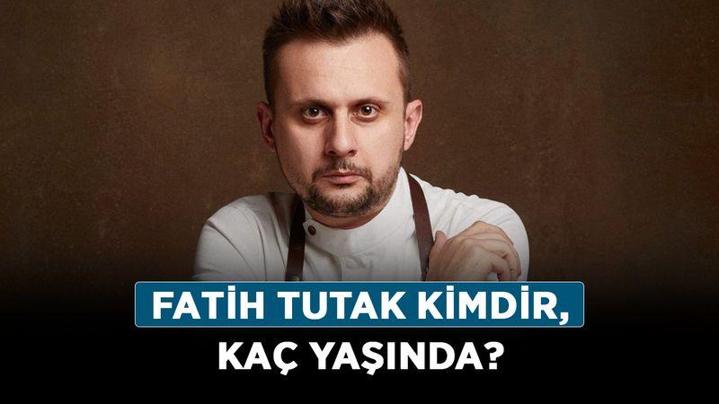 Fatih Tutak kimdir, kaç yaşında? Fatih Şef nereli, kariyeri nasıl?
