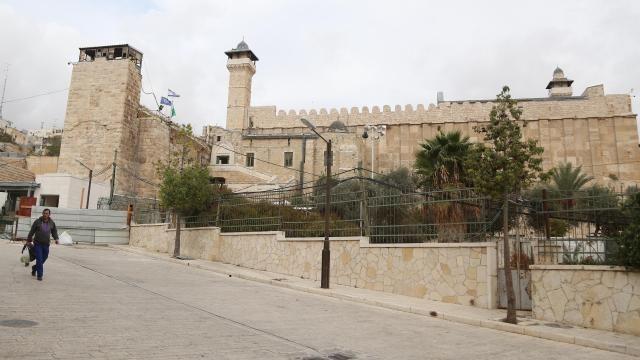 İsrail, tepkilere rağmen Harem-i İbrahim Camisi'ne asansör inşasına başladı