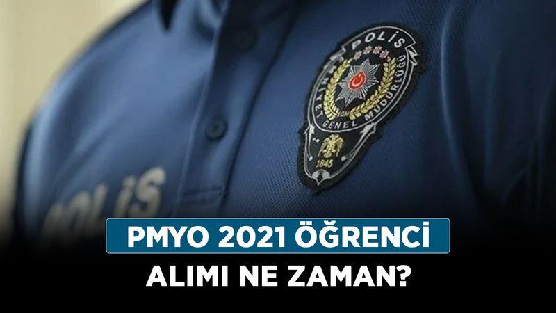 PMYO 2021 öğrenci alımı ne zaman? Polis öğrenci alımı başladı mı?