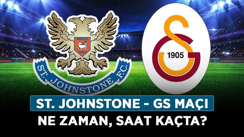UEFA St. Johnstone - GS maçı ne zaman, saat kaçta? St. Johnstone - Galatasaray hangi kanalda?