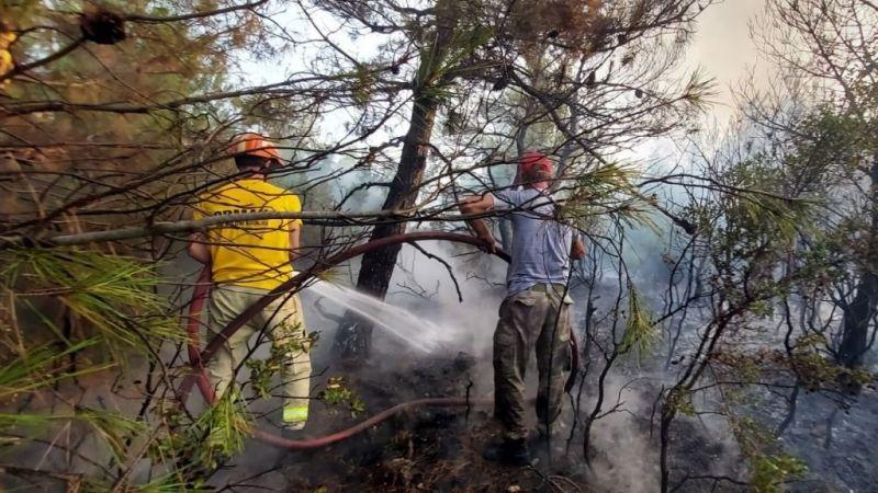 Çanakkale'den güzel haber! Yangın kontrol altında