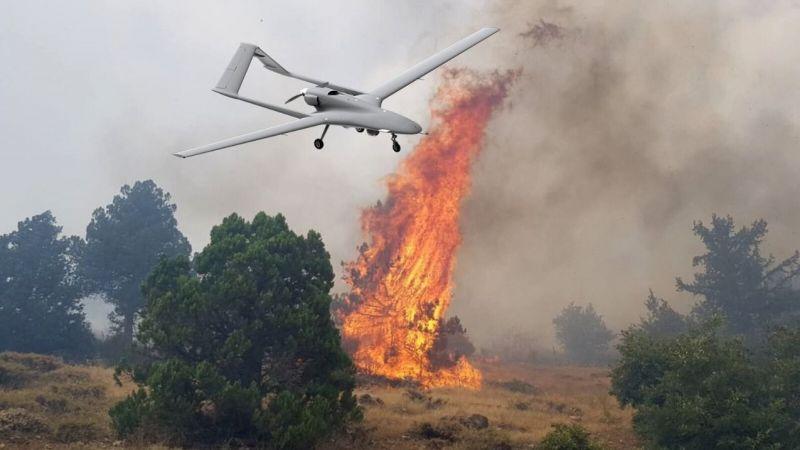 """İHA'lar """"Yeşil Vatan""""ın korunması için 872 saat uçuş gerçekleştirdi"""