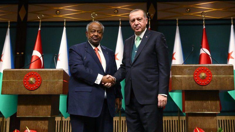 Cumhurbaşkanı Erdoğan, Cibuti Cumhurbaşkanı Guelleh ile telefonda görüştü