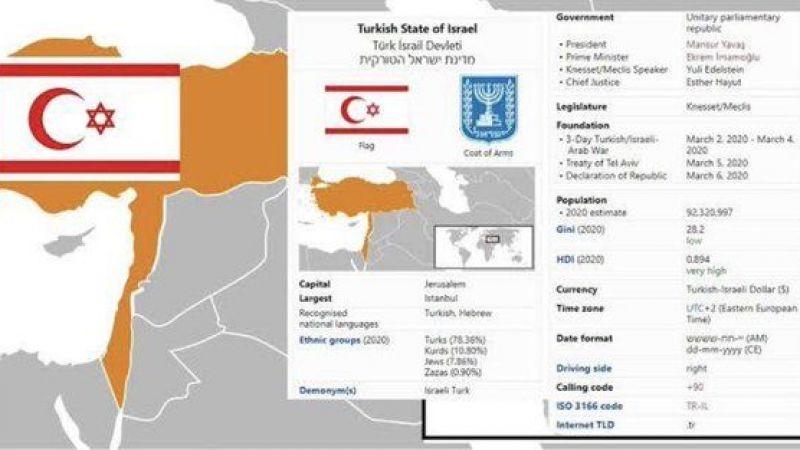 Ayaklanma çağrısı ve skandal 'İsrail' başlığı