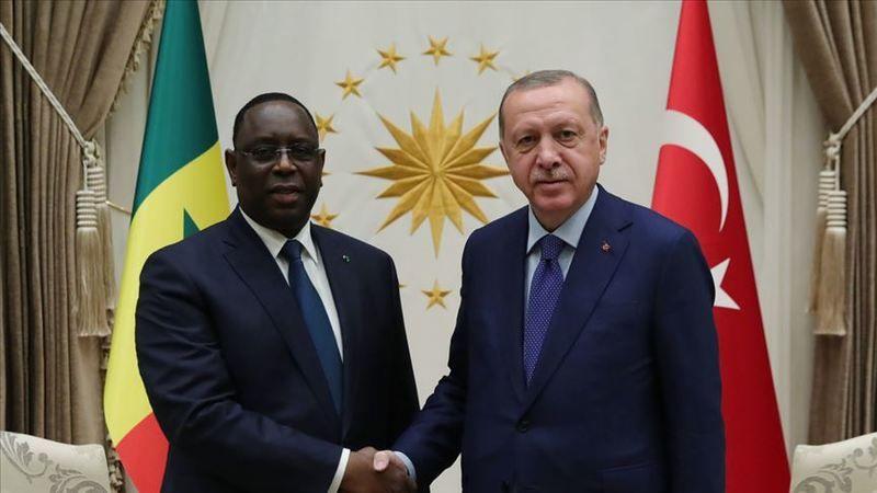 Cumhurbaşkanı Erdoğan, Senegal Cumhurbaşkanı Sall ile telefonda görüştü