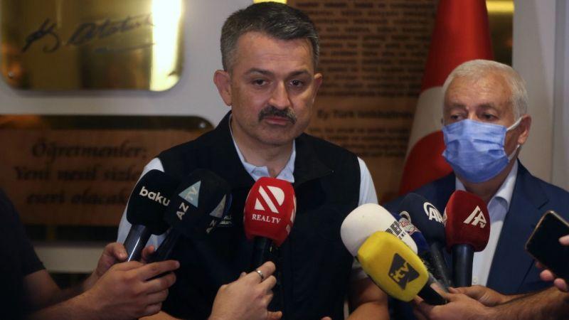 Bakan Pakdemirli, Marmaris'te koordinasyon toplantısı sonrasında açıklama yaptı