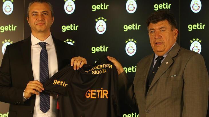 Galatasaray'ın yeni sezonda forma kol sponsoru Getir firması oldu