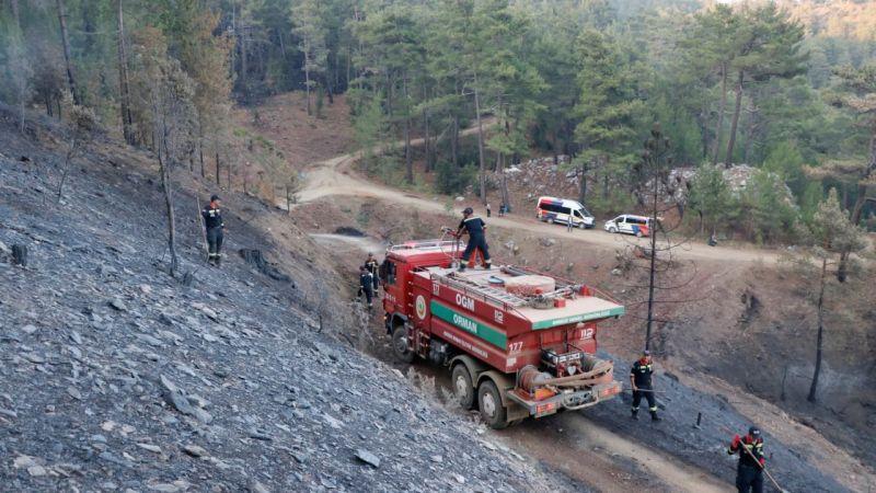 Bekir Pakdemirli: Köyceğiz yangınında yerleşim yerlerine tehdidi ortadan kaldırdık