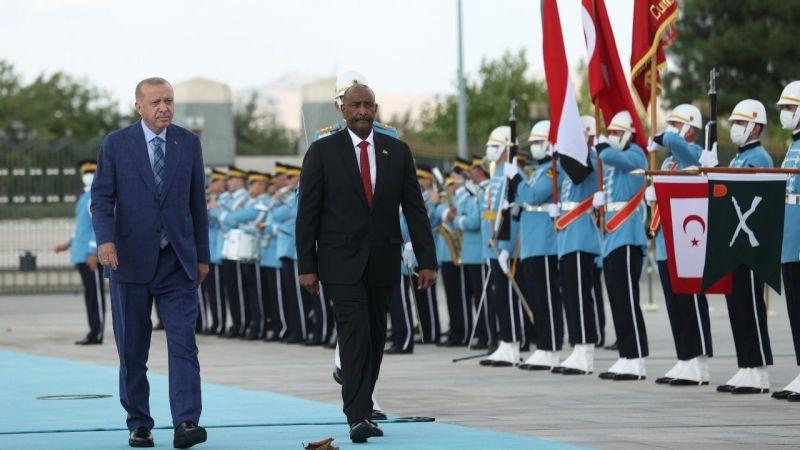 Sudan Devlet Başkanı Burhan Ankara'da