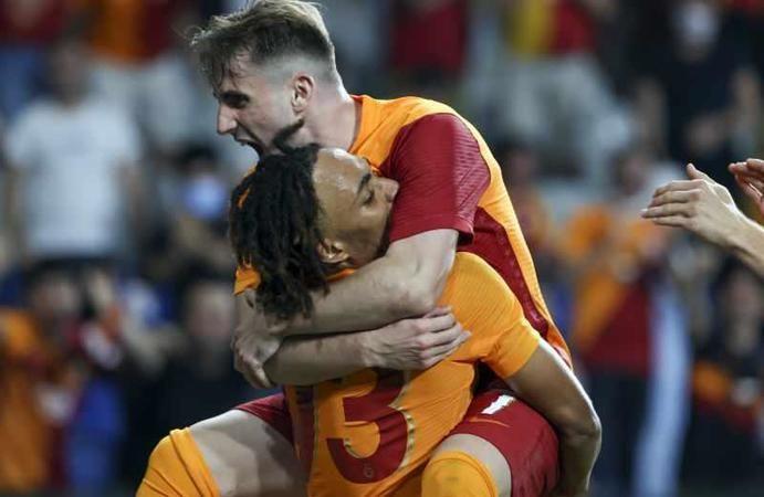 Galatasaray, St. Johnstone'ı 4-2 mağlup ederek tur atladı