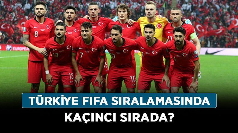 Türkiye FIFA sıralamasında kaçıncı sırada? En yüksek FIFA puanı hangi ülkede?