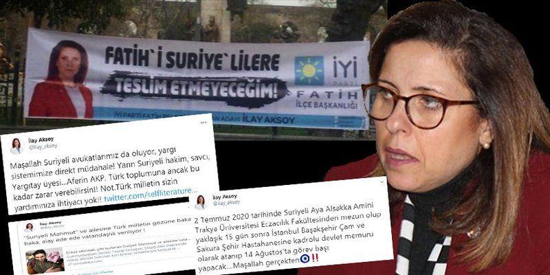 İYİ partili İlay Aksoy işlediği nefret suçunu hiçe sayıp Diriliş Postası'nı hedef alıp ölümle tehdit ettirdi!