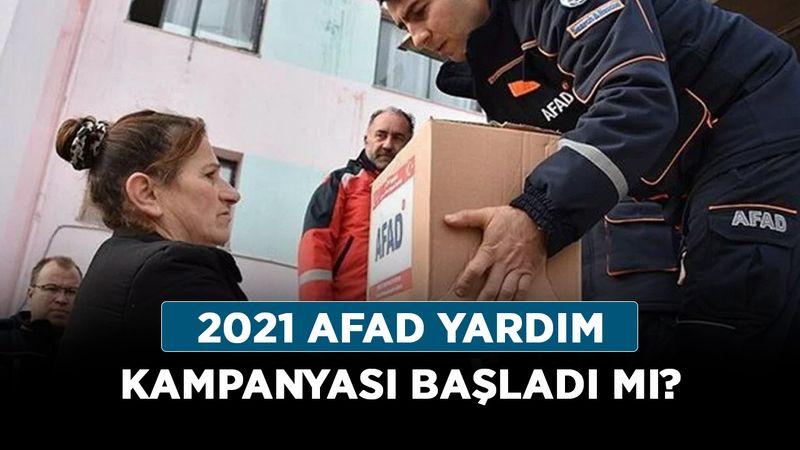 2021 AFAD yardım kampanyası başladı mı? Yardım kampanyasına başvuru nereden, nasıl yapılır?