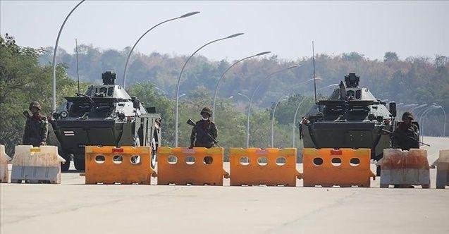 Myanmar tarafından Çin tarafına havan topu düştü