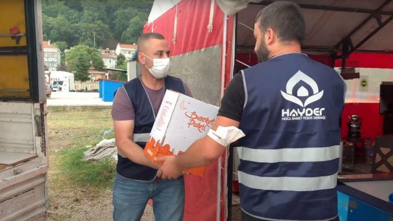 HAYDER'den Kastamonu'ya acil yardım