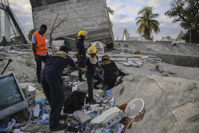 Korkunç bilanço! Haiti'de ölü sayısı 724'e yükseldi