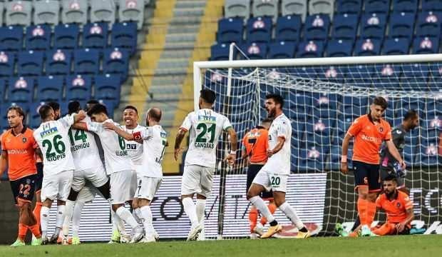 Alanyaspor, Başakşehir'i tek golle geçti!