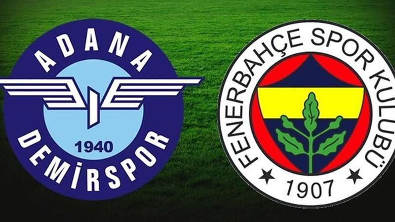 Adana Demirspor - Fenerbahçe maçının muhtemel 11'leri